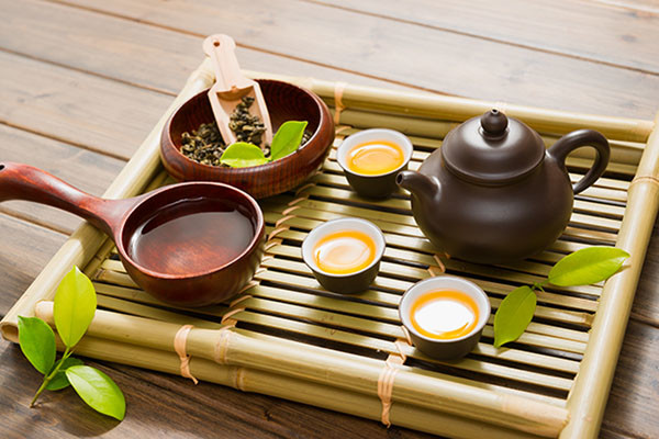 different classes of Chinese Tea - Green tea