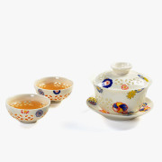 Flowers Chinese Kung Fu Tea Set