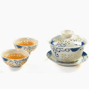 Kung Fu Tea Set with Gaiwan